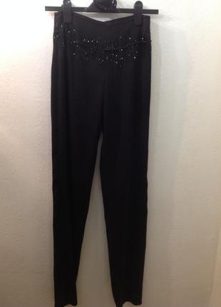 Элегантные, эффектные брюки от bgn, черные.