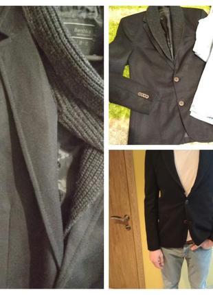 Стильный мужской пиджак, bershka, p. m