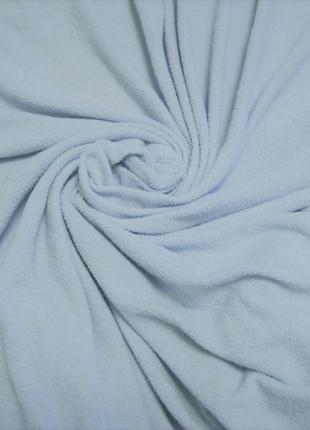 Простынь двуспальная на резинке махровая 180 х 200 см