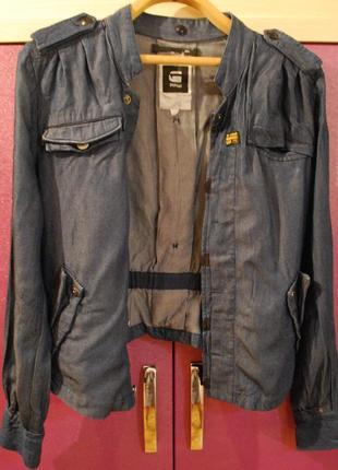 Джинсовый пиджак g-star