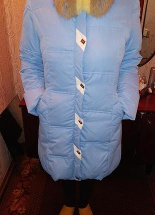 Куртка осень-зима ( пуховик)