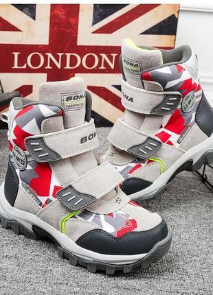 Распродажа! добротные зимние ботинки, размеры 33-36, разные модели