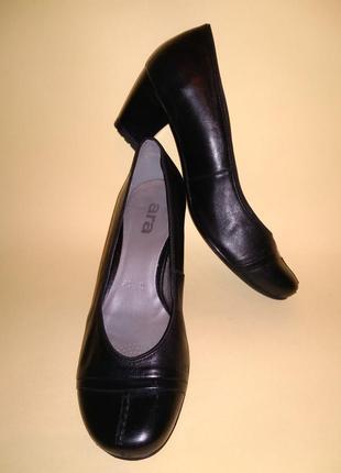 Туфли ara германия 37,5 очень устойчивые кожа