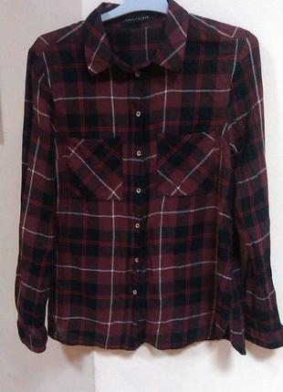 Рубашка в шотландскую клетку seppala,34/xs