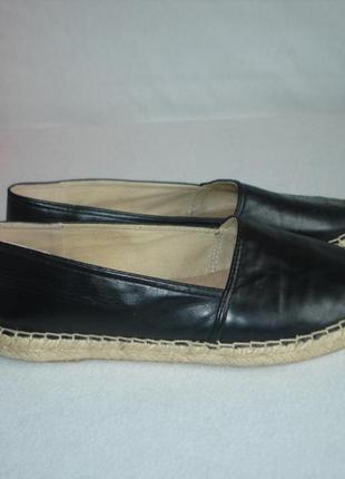 Туфли мокасины эспадрильи бренд venice