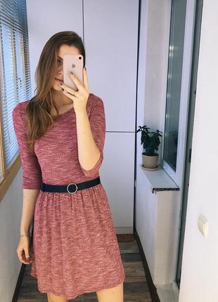 Базовое меланжевое платье esprit