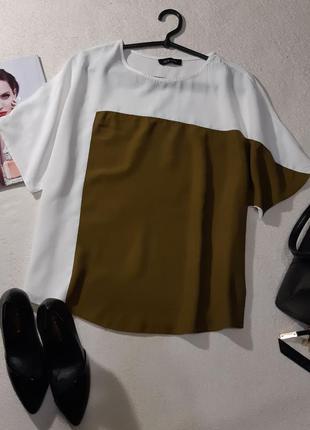 Красивая стильная блуза. размер xl
