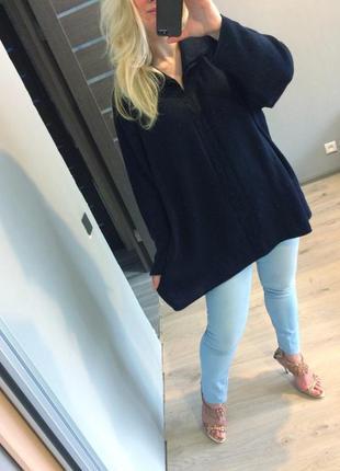 Шерстяной свитер в косы wool pura lana vergine пр-во италия