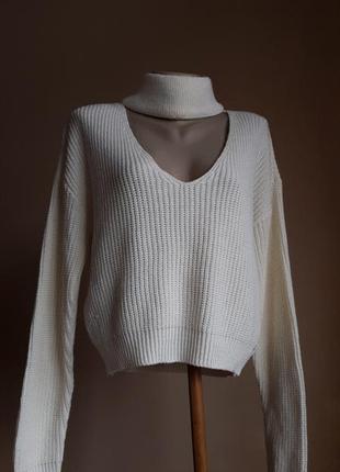 Люкс свитер чокер хлопок  glamorous британия