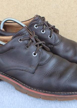 Туфли clarks кожа англия 45р