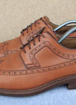 Туфли броги bally швейцария кожа 42р