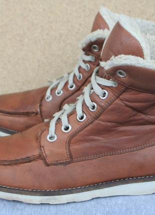 Зимние ботинки sixmix кожа италия 38р