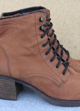 Ботильоны vagabond нубук (кожа) швеция 40р ботинки
