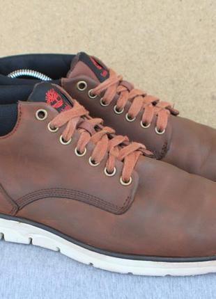 Ботинки timberland нубук (кожа) 42.5р кеды мужские