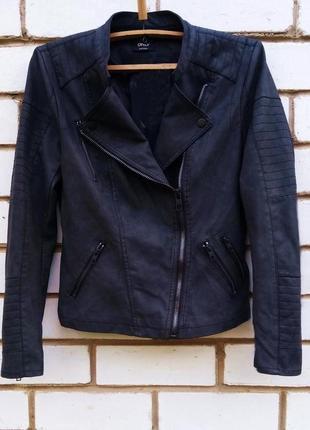 Куртка-косуха из искусственной кожи only