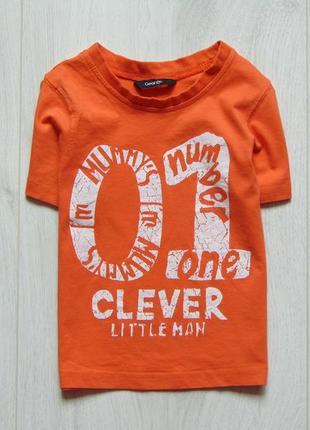 Яркая футболка для мальчика. george. размер 1.5-2 года