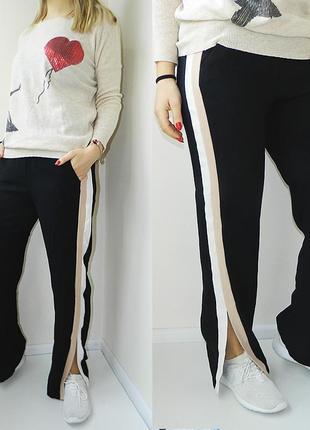 New look стильные штаны с лампасами