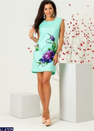 Платье лёгкое  льняное