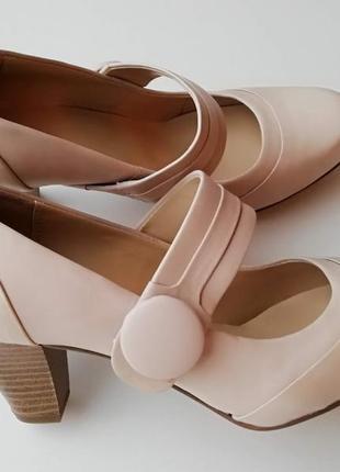 Элегантные туфли clarks, размер 7