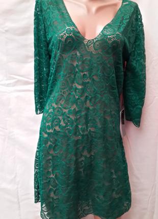 Платье-туника пляжное  тиффани  44-46