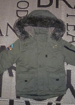 Куртка nutmeg (р.92 на 1,5-2роки) парка курточка