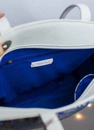 Большая сумка с орнаментом сумочка италия particolari6 фото