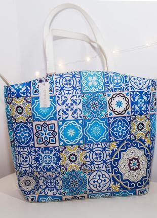 Большая сумка с орнаментом сумочка италия particolari1 фото