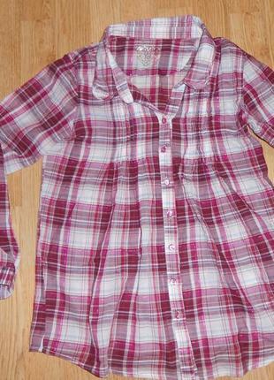 Рубашка на девочку 11-12 лет