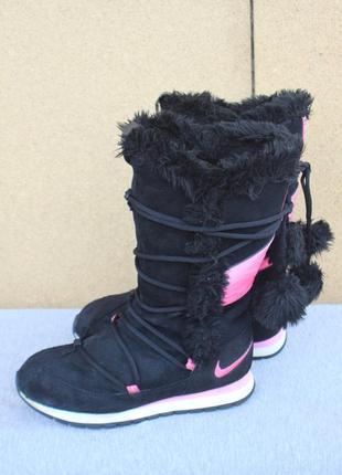 Зимние ботинки nike замша 38р дутики оригинал c0a5a426e7292