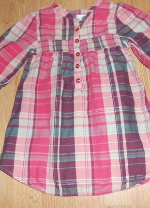 Платье-туника на девочку 3-4 года