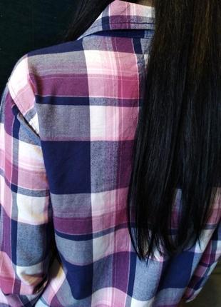 Брендовая рубашка клетка от per una5
