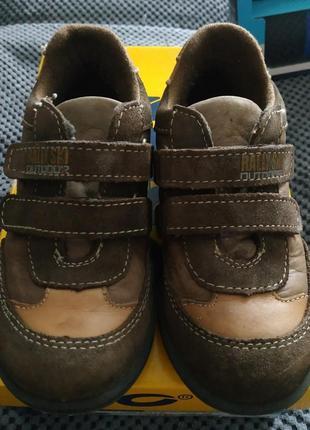 Итальянские кожаные ботинки 28р 17,5см