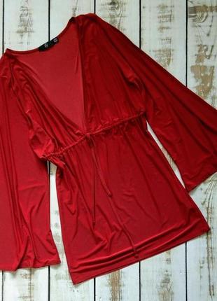 Свободное платье с глубоким декольте missguided