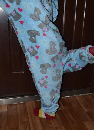 Me to you кигуруми слип пижама домашний костюм мишка