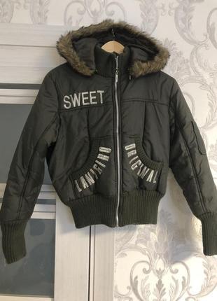 Стильная молодежная куртка