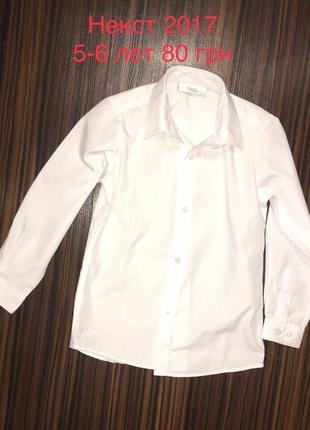 5-6 лет рубашка
