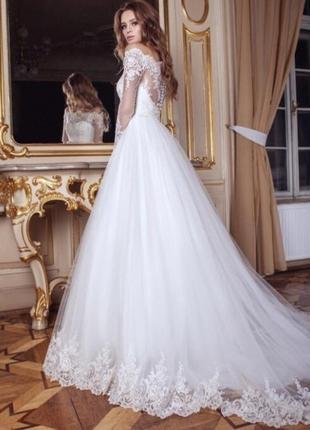 Свадебное платья. коллекция 2016 года.