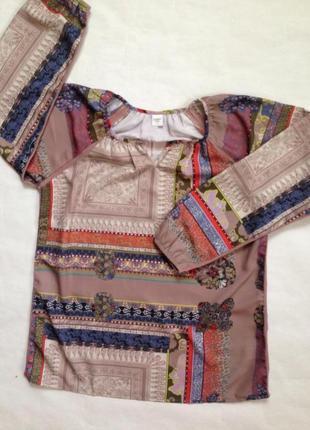 Блуза, туника в бохо-стиле