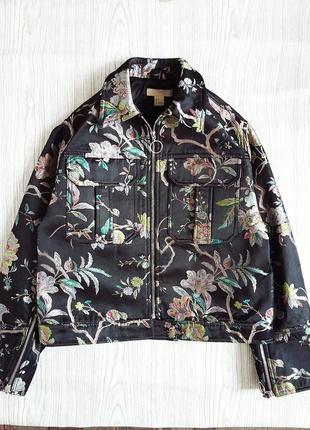 Куртка - бомбер в принт💣💣💣