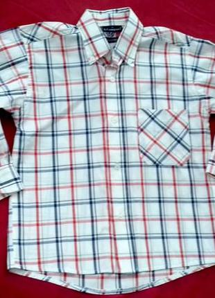 Рубашка на мальчика 6 лет. на рост 116 см. бренд s. company