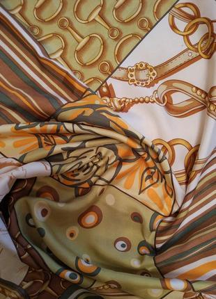 Vip!!!!! роскошный шелковый платок шарф mila schon