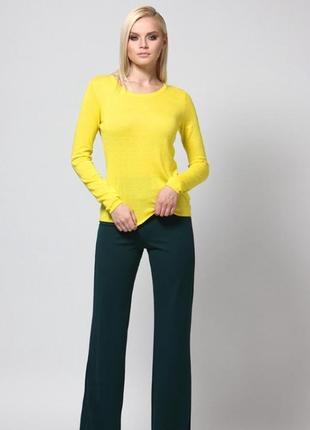 Базовый желтый джемпер