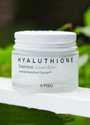 Крем-бальзам для лица a'pieu hyaluthione soonsoo cream balm