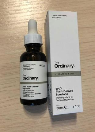 Сквалановое масло the ordinary 100% plant-derived squalane