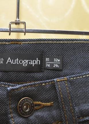 Джинсы  marks& spencer autograph (w 32. l29).5 фото