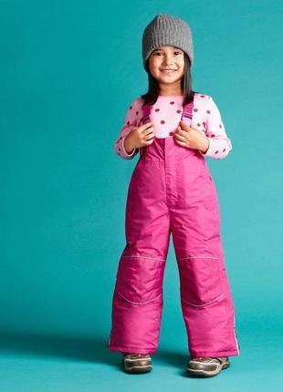 Лыжный термо-комбинезон, штаны tchibo на 3-4 года.