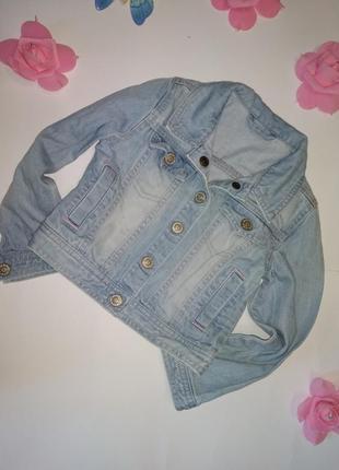 Джинсовая куртка пиджак mothercare