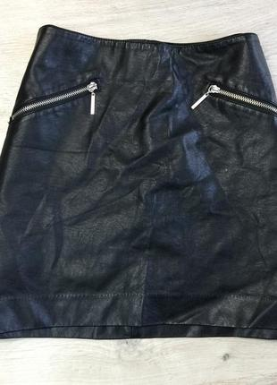 Чёрная юбочка