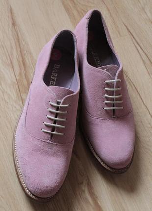 Туфли  barker, 100% оригинал. англия. размер uk 5.
