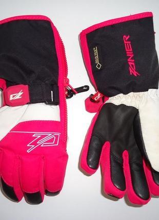 Классные, фирменные термо перчатки zanier на 6-8 лет